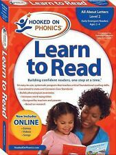 Hooked on Phonics Learn to Read Pre-K Level 2, , New Book