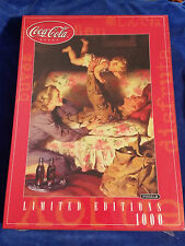 2001 Coca Cola Limited Editions 1000 Pc Puzzle - Soldier w / Family Sealed Coke