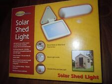 Solar Shed LIght Northern Industries Outdoor Lighting LED Screw Magnet Mount NIB