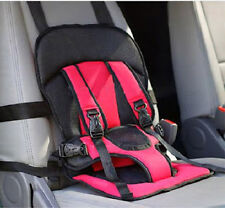 Portable Infant Car Child Safety Seat Cover Cushion Baby Carrier(Red)