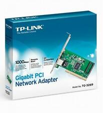 TP-LINK TG3269 Gigabit 10/100/1000 MPBS PCI NETWORK ETHERNET CARD