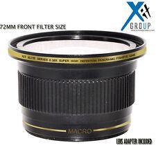 XIT 0.38X WIDE ANGLE FISHEYE Lens FOR NIKON 18-55MM D5200 D5100 D3200 D3100 D40X