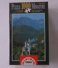 Educa Neuschwanstein Castle Germany Miniature Jigsaw Puzzle 1000 Sallent 7.578