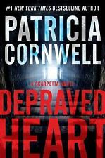 Depraved Heart: A Scarpetta Novel (Kay Scarpetta), Cornwell, Patricia, Good Book