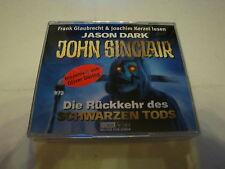 John Sinclair - Die Rückkehr des schwarzen Tods (Hörbuch) 4 CD´s
