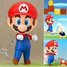 *NEW* Super Mario Bros: Mario Nendoroid 473 PVC Figure CHN VER. NEW IN BOX