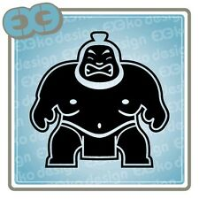SUMO JDM Decal Car Tuning Auto Window Bumper Racing Funny Sticker Honda Toyota