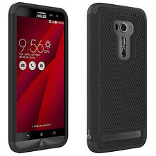 For Asus Zenfone 2 Laser Black Case Hybrid Protective Shock Absorbent Cover