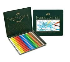 Faber-Castell Albrecht Durer Watercolor Pencil Tin 24 Colour Professional Artist