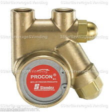 "PROCON PUMP SERIES 1 BRASS ROTARY VANE W/RELIEF VALVE 125GPH 250PSI 3/8"" IN/OUT"