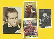 Ricky Gianco Fab Card Collection Ricky Sanna  Italian singer