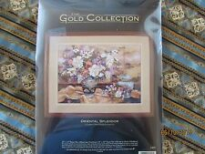 CROSS STITCH KIT Dimensions Gold Collection ORIENTAL SPLENDOR Lena Liu Floral