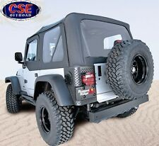 Soft Top Black Diamond XHD Tinted Fits: Jeep Wrangler Unlimited LJ  13731.35