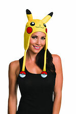 Pokemon Pikachu Beanie Headpiece Pokemon Go Laplander Hat Teen Adult One Size