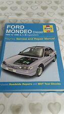 FORD MONDEO MK1 DIESEL 1993 TO 1996 HAYNES WORKSHOP MANUAL 3465 VGC FREE P&P