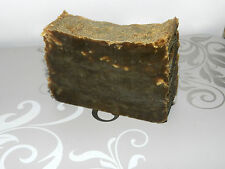 Lard  and Lye Old Fashioned Traditional Handmade Soap with DARK Pine Tar single