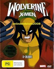 WOLVERINE & the X-MEN X-CALIBRE Kids Animation ACTION DVD (NEW SEALED) Region 4