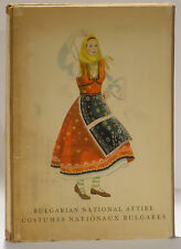 Bulgarian National Costume folio 60 lithos embroidery prints 1950 Maria Veleva