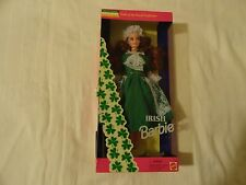 IRISH BARBIE DOLLS OF THE WOLRD MATTEL 1994 RED HAIR NIB