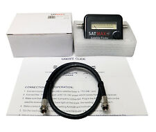 Super Satellite Finder Signal Strength Meter Sky Freesat Hotbird Polesat Dish
