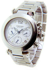 Cartier Pasha C  Chronograph Automatic  Stainless Steel  35mm Midsize