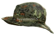 TACTICAL SWAT MILSPEC BOONIE HAT MILITARY SNIPER HUNTING FISHING CAP - flecktarn