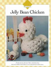 Easter JELLY BEAN CHICKEN Crochet Single Pattern Vanna White 1995
