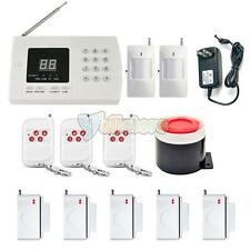 433MHz 99 Zones Wireless GSM PSTN Home Security Burglar Alarm System Auto Dialer