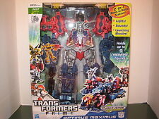 Transformers Prime Optimus Maximus Lights Sounds Launching Missiles