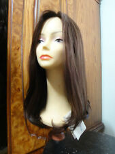 Human Hair Wig Sheitel Dark Brown color 8- 4, New Malky 100% Remy wefted thiker