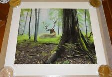 Josh Keyes Dreaming Signed Poster Limited Edition of 150