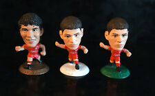 3 CORINTHIAN Micro Stars FIGURE LOT Collection Soccer Football Mini LIVERPOOL