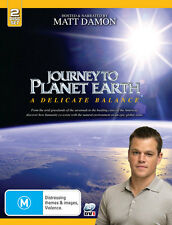 JOURNEY to PLANET EARTH - Matt DAMON - Global Warming DVD (NEW SEALED) BOXSET