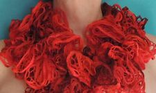 LoopDLoops —Scarlett Red Frilly Scarf