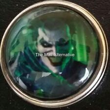 The Joker, 18 mm snap button, USA Seller