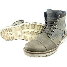 Bull Boxer Indos Men US 8 Gray Boot Pre Owned  1846