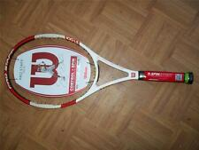 Brand new 2014 Wilson Pro Staff 100LS 4 1/4 grip 16x15 10.1 oz. Tennis Racquet