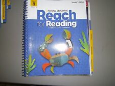 National Geographic Reach for Reading, Gr 5, Unit 8, Teacher's Ed. Common Core