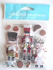 Jolee's Boutique 3D stickers - Nutcrackers - Christmas Theme - toy soldiers