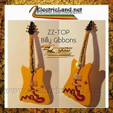 Mini Guitar Billy Gibbons ZZ TOP Muddywood REPLICA miniatura chitarra