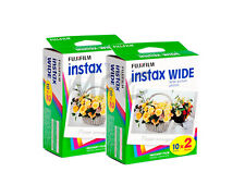 Fuji Instax Wide 210 Instant Color Print Film twin pack (40 shots) - 08/2018