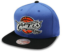 NBA Mitchell & Ness Cleveland Cavaliers Throwback Blue  Snapback Cap - New