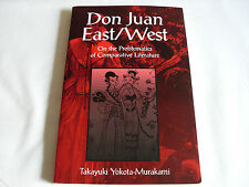 Don Juan East/West Problematics Comparative Literature -Takayuki Yokota-Murakami
