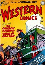 WESTERN COMICS COLLECTION #1-85 ON DVD FULL RUN 1948-1961 US GOLDEN/SILVER AGE
