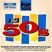 Various Artists - Pop Years : The 50s (10 Disc CD) - New