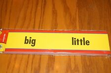 Teacher Resource: Beginning Reading Skills Antonyms Word Wall Cards NEW