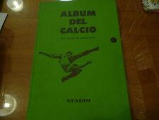 """ALBUM DEL CALCIO""""UN SECOLO DI FOTOGRAFIE-LIBRO CARTONATO/STADIO 1972!  UP"""