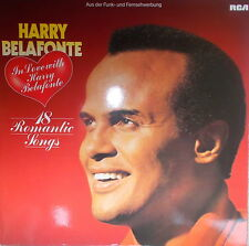 LP Harry Belafonte, In Love With Harry Belafonte,VG++,cleaned,RCA PL 45317