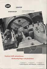 GÖPPINGEN, Prospekt um 1950, Vereinigte Drehbank-Fabriken