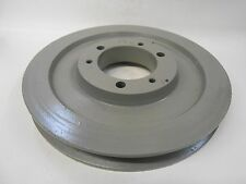 """1 GROOVE QD BUSHING SHEAVE PULLEY, 1B68SDS, 7.15"""" OD, 7/8"""" FACE WIDTH"""